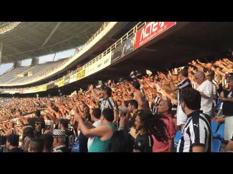 """Eu Sou Louco E Nada Vai Me Abalar - Botafogo X Bragantino"" Barra: Loucos pelo Botafogo • Club: Botafogo"