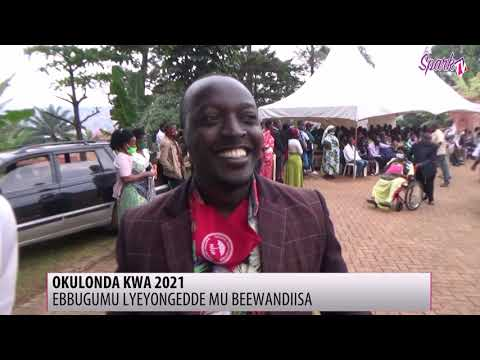 OKULONDA KWA 2021: Ebbugumu lyeyongedde mu beewandiisa