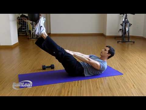 V-ups Lower Abs Exercise: 3 Variations