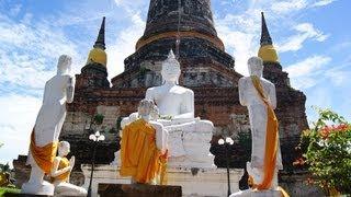 preview picture of video 'Phra Nakhon Si Ayutthaya - Tempelanlagen von Ayutthaya'