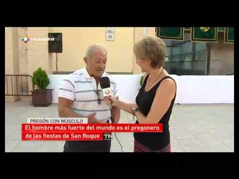 Un pregonero 'muy cachas' en Serranillos del Valle