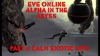Eve Online Alpha In The Abyss. Pt:1 Calm Exotic Abyssal Site run in Low Skill Caracal