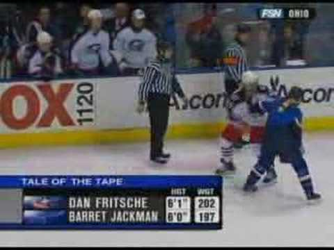 Dan Fritsche vs Barret Jackman