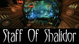 Skyrim, The Staff Of Shalidor Player Home Mod + Boost Your Carry Weight PC & XBox1
