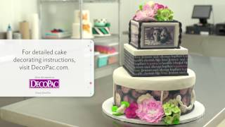 """How to Create an """"Our Love Story"""" Wedding Cake Design"""