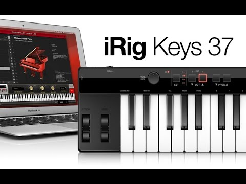 IK MULTIMEDIA iRig Keys 37 USB/MIDI keyboard