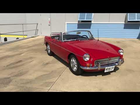 Video of '66 MGB - MP0T
