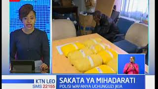 Sakata ya Mihadarati:Polisi wa ujasusi waendelea kufanya uchunguzi JKIA