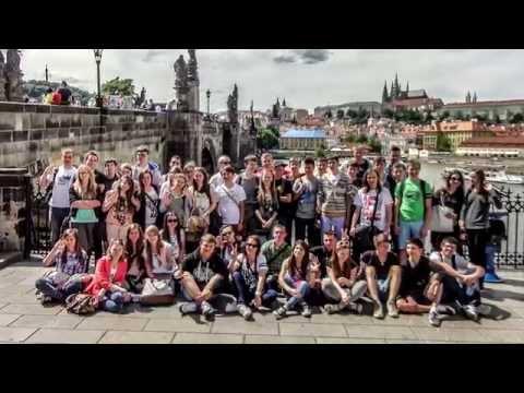 Film z wycieczki Wrocław-Praga-Karkonosze