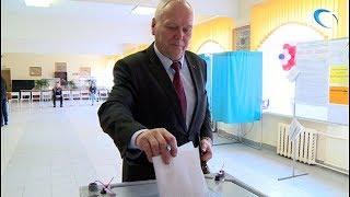 На выборах проголосовали кандидаты на должность губернатора