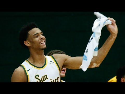 San Francisco's Nate Renfro Throws Down On Portland | CampusInsiders