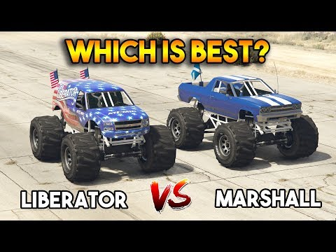 GTA 5 ONLINE : LIBERATOR VS MARSHALL (WHICH IS BEST?)
