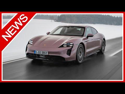Neuer Porsche Taycan jetzt auch als 476 PS starker Hecktriebler und 100 Kg leichter - NEWS!