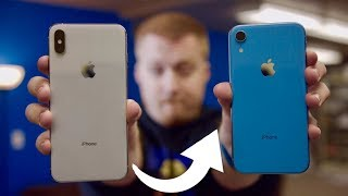 Switching to the iPhone XR