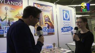 Neuheiten – QUEEN GAMES – Spielwarenmesse 2019 in Nürnberg (Spiel doch mal…!)