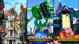 Top 10 Fastest Rides at Universal Orlando! | Universal Studios Florida & Islands of Adventure