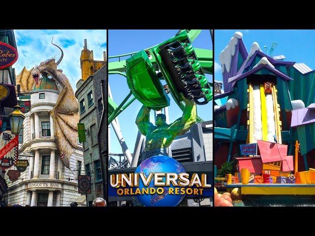 Top 10 Fastest Rides at Universal Orlando! | Universal Studios Florida & Islands of Adventure
