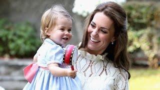 Британская принцесса Шарлотта впервые сказала слово на публике (новости)