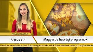 Programajánló / TV Szentendre / 2019.04.04.