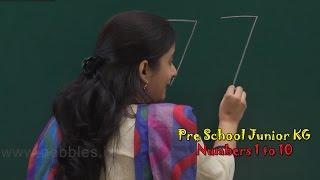 Numbers 1 to 10 | Let's Learn Numbers | Numbers Song | Count Numbers | Pre School Junior