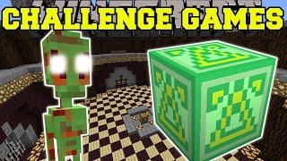 Minecraft: UFO ALIENS CHALLENGE GAMES - Lucky Block Mod - Modded Mini-Game