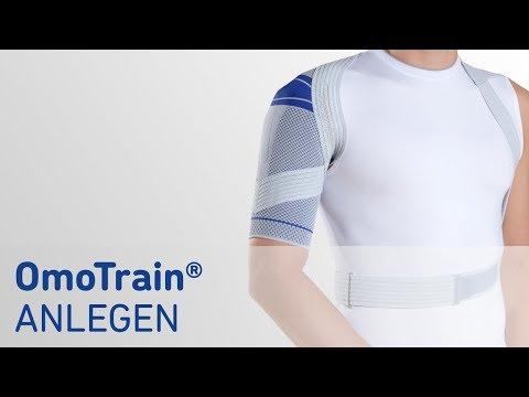 OmoTrain Schulterbandage anlegen