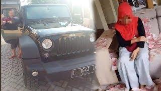 Suami Wanita yang Viral 'Hujani' Uang Diduga Palsukan Pelat Nomor Mobil Mewahnya