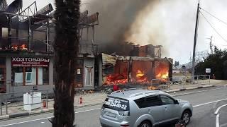 Пожар в Лоо 16.03.2017 г.