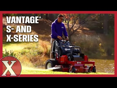 2018 Exmark Vantage S-Series Stand-On Mower Kawasaki 36 in. in Winterset, Iowa - Video 1