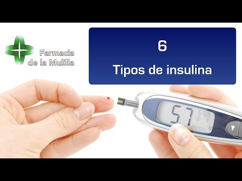 El uso de insulina de los cartuchos