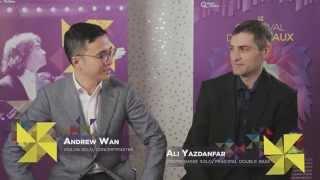 Andrew Wan et Ali Yazdanfar