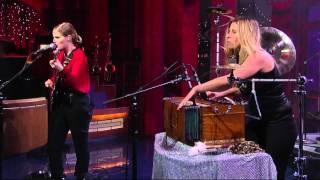 """ANNA CALVI  """"Desire""""  - Live on David Letterman Show 07 27 2011.mp4"""