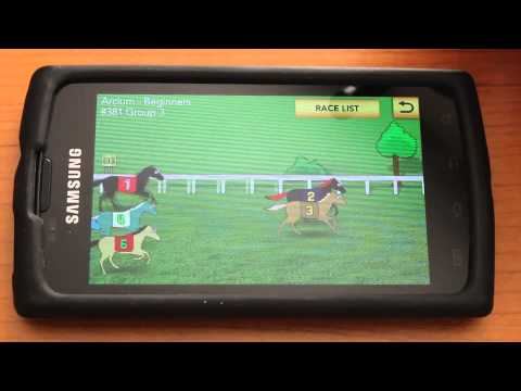 Horse racing on your Android device with Hooves Reloaded: Horse Racing