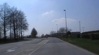 preview picture of video 'Driving On The D887 Towards Châteaulin, Finistere, Brittany, France 16th April 2010'