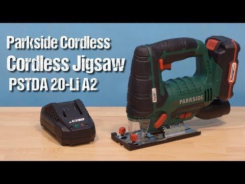 Parkside Cordless Jigsaw PSTDA 20-Li A2 ~ unboxing & review ~ Česky ᴴᴰ