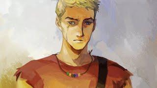 Luke Castellan, son of Hermes
