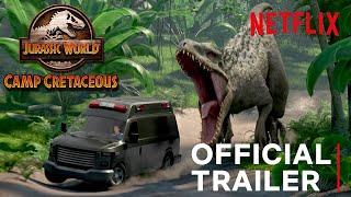 Jurassic World Camp Cretaceous   Official Trailer   Netflix