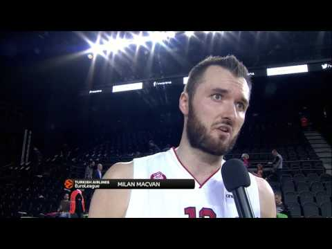 Post-game interview: Milan Macvan, EA7 Emporio Armani Milan