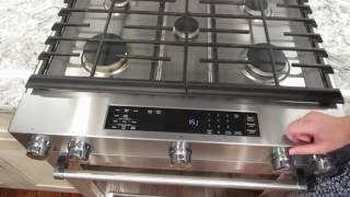 Kitchen Aid Gas Convection Slide In Range Review KSGB900ESS