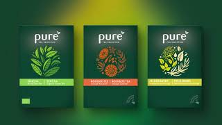 Hajok Design Craft Brand Story and Packaging Design for Pure Tea Selection