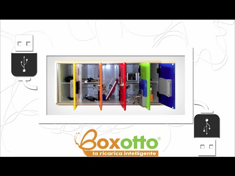 Boxotto: box carica cellulare e tablet per spiagge