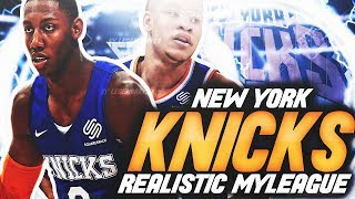 ROAD TO A NBA CHAMPIONSHIP! | NBA 2K20 NEW YORK KNICKS MYLEAGUE