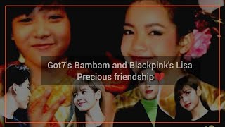 GOT7 Bambam and BLACKPINK Lisa pure friendship that make you falling love