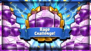 NEW RAGE CHALLENGE!! FREE LEGENDARY CHEST - LIVE! - Clash Royale Rage Challenge