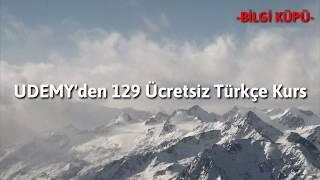 Udemy'den 129 Ücretsiz Türkçe Kurs