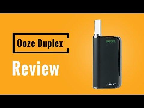 Ooze Duplex Vaporizer Review – Vapesterdam