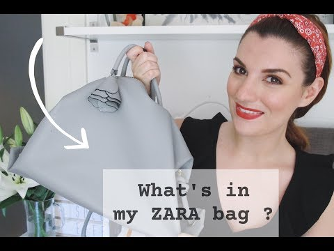 What's in my ZARA bag ? || Federica Effe