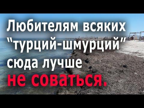 Крым Портовое  Что творится на пляжах, обзор цен н 011