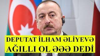 Milli Məclisdə etiraz, deputat İlham Əliyevə sillə vurdu VİDEO
