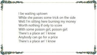 Chris Whitley - Poison Girl Lyrics